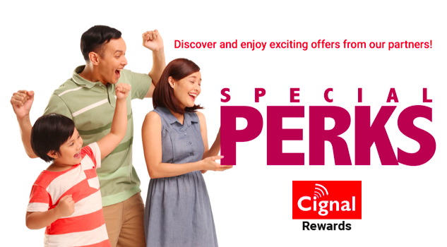 Cignal Subscription Perks